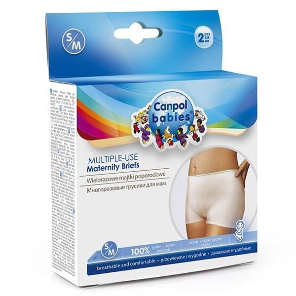 popôrodné nohavičky v balení